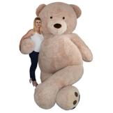 TE-Trend XXL Riesenteddybär Riesen Teddy Teddybär liegend sitzend 320 cm Farbe hellbraun Dekoration Messe Event Promotion Hochzeit - 1